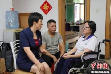 湖南衡阳截瘫女孩谢可欣轮椅不会束缚我的梦想